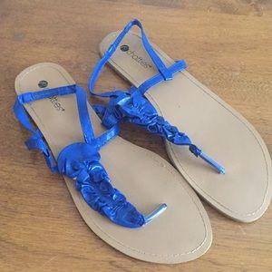 Size 11 Blue Chatties Sandals
